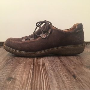 Timberland Suede Lace-Up Walking Shoes🚶